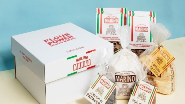 BOX FLOUR POWER MULINO MARINO